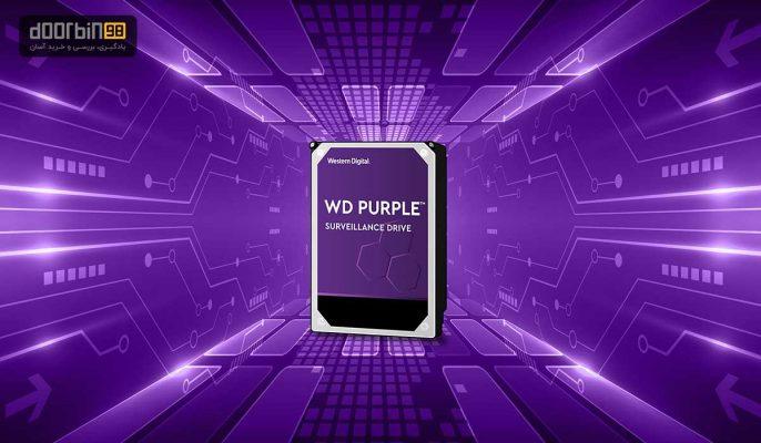 هارد بنفش وسترن دیجیتال مدل Purple WD20PURX