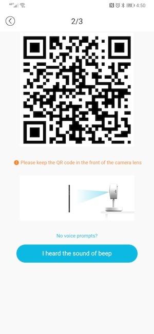 نمایش QR code در اپلیکیشن بلورمز