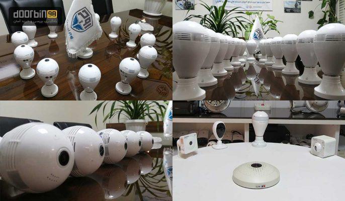 بهترین دوربین لامپی v380 ارزان قیمت | قیمت دوربین لامپی دیجی کالا
