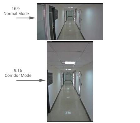 حالت راهرو یا Corridor mode