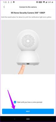 تنظیمات دوربین Mi Security 360
