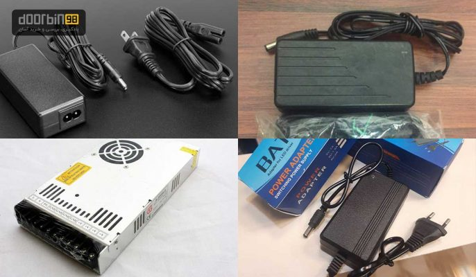 فروش عمده آداپتور دوربین مداربسته آداپتور 12 ولت آداپتور سوئیچینگ