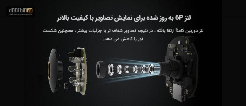 لنز قیمت و خرید دوربین چرخشی شیائومی مدل MJSXJ09CM 2K