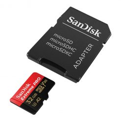 کارت حافظه یا رم 32 گیگابایت سن دیسک SANDISK مدل اکستریم پرو Extreme PRO کلاس A2
